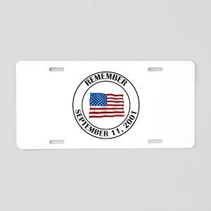9 11 Aluminum License Plate
