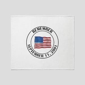9 11 Throw Blanket