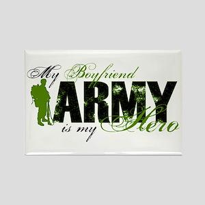 Boyfriend Hero3 - ARMY Rectangle Magnet