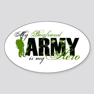 Boyfriend Hero3 - ARMY Sticker (Oval)