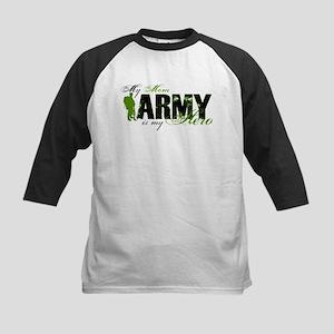 Mom Hero3 - ARMY Kids Baseball Jersey
