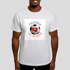Tunisia world cup Ash Grey T-Shirt