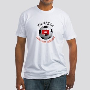 Tunisia world cup Fitted T-Shirt