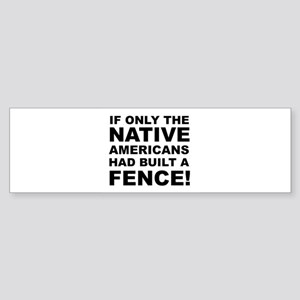 Native American Bumper Sticker