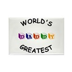 Greatest Daddy Rectangle Magnet (10 pack)