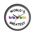 Greatest Daddy Wall Clock