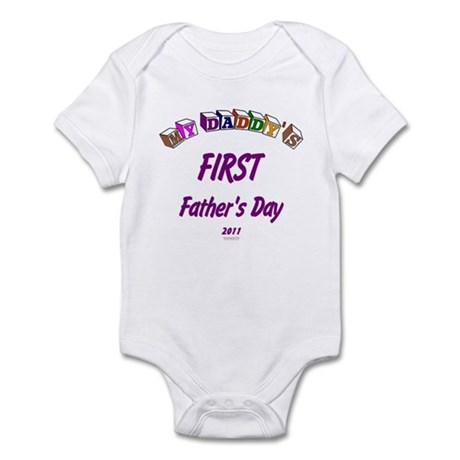 First Father's Day Infant Bodysuit