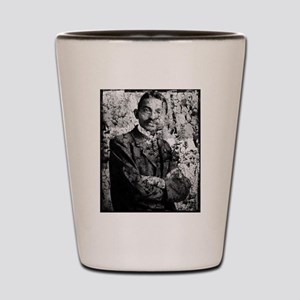 Young Gandhi - Old, Worn Photo Shot Glass