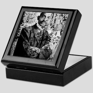Young Gandhi - Old, Worn Photo Keepsake Box