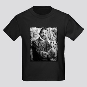 Young Gandhi - Old, Worn Photo Kids Dark T-Shirt