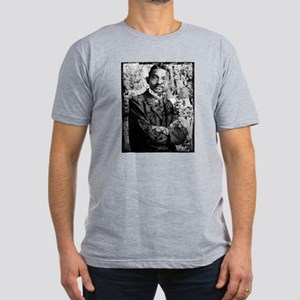 Young Gandhi - Old, Worn Photo Men's Fitted T-Shir