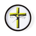 Deophagy Cross Wall Clock