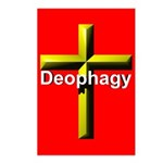 Deophagy Cross Postcards (Package of 8)