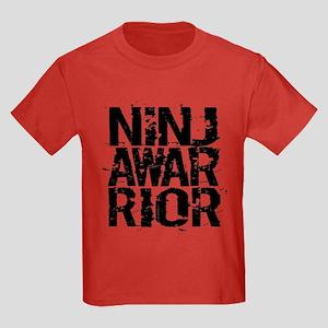 NINJA WARRIOR Kids Dark T-Shirt