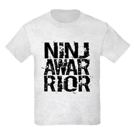212147443 CafePress Girl Ninja In Training Kids Light T Shirt Kids T-Shirt