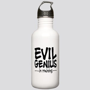 Evil Genius In Training Stainless Water Bottle 1.0