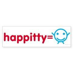 Happitty Bumper Bumper Sticker