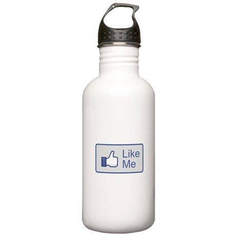 Like Me Facebook Icon Stainless Water Bottle 1.0L