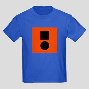 Universal Distress Flag Kids Dark T-Shirt