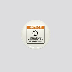Principal / Argue Mini Button
