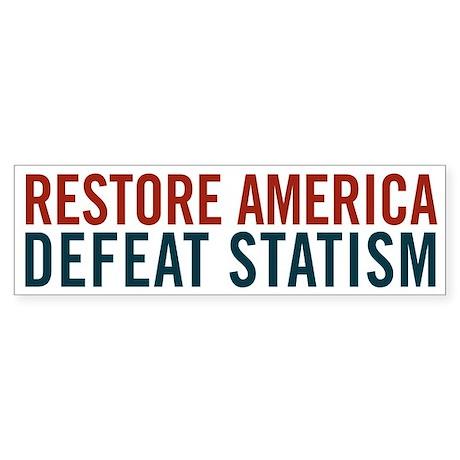 Restore America Sticker (Bumper)