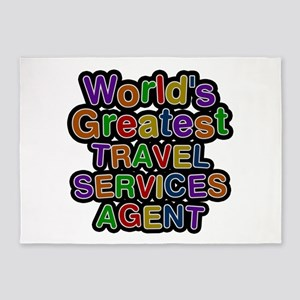 World's Greatest TRAVEL SERVICES AGENT 5'x7' Area