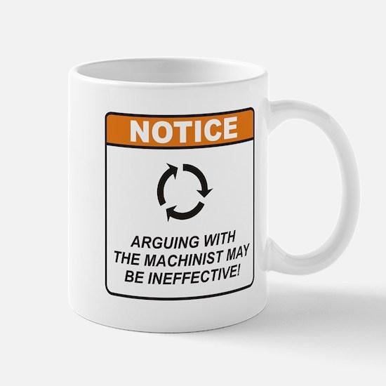 Machinist / Argue Mug