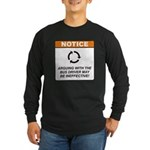 Bus Driver / Argue Long Sleeve Dark T-Shirt