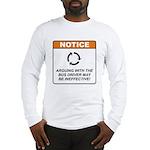 Bus Driver / Argue Long Sleeve T-Shirt