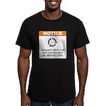 Bus Driver / Argue Men's Fitted T-Shirt (dark)