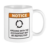 Accountant / Argue Mug