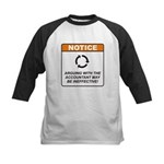 Accountant / Argue Kids Baseball Jersey