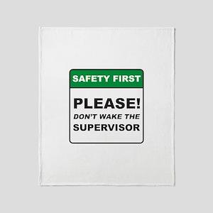 Supervisor / Wake Throw Blanket