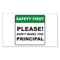 Principal / Wake Sticker (Rectangle)