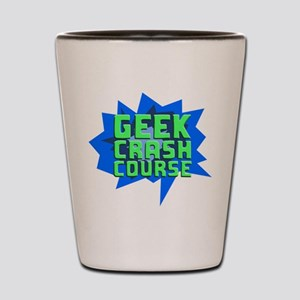 Geek Crash Course Shot Glass