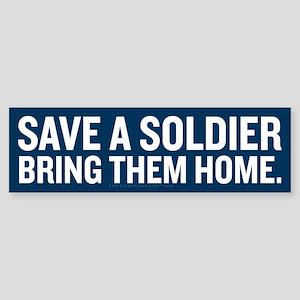Save a Soldier Sticker (Bumper)