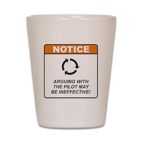 Pilot / Argue Shot Glass