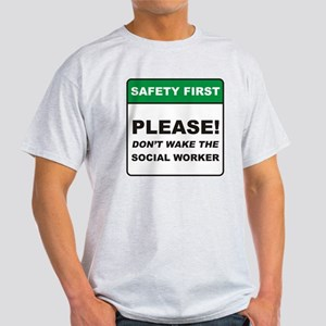 Social Worker / Wake Light T-Shirt