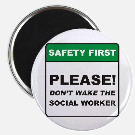 "Social Worker / Wake 2.25"" Magnet (10 pack)"