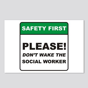 Social Worker / Wake Postcards (Package of 8)