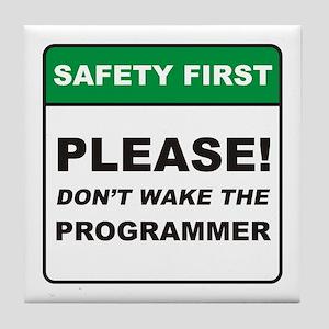 Programmer / Wake Tile Coaster