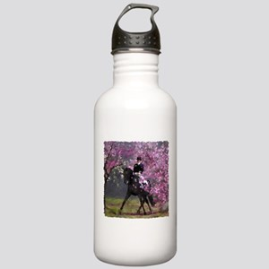 Spring Half Pass Dressage Stainless Water Bottle 1