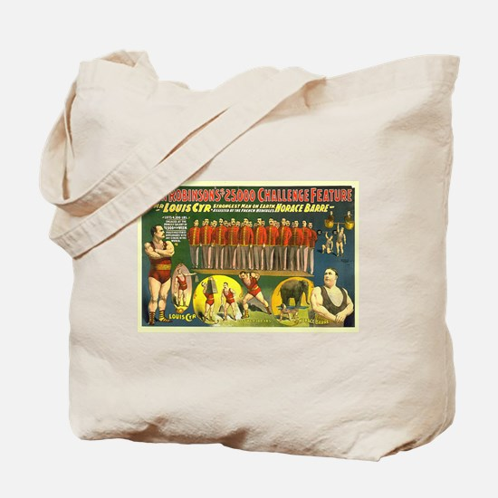 The Strongest Man On Earth Tote Bag