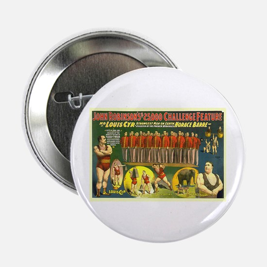 """The Strongest Man On Earth 2.25"""" Button"""