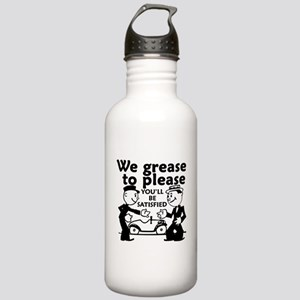 Grease to Please Stainless Water Bottle 1.0L