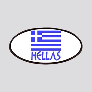 Greek Flag & Hellas Patches