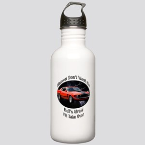 Ford Mustang Boss 351 Stainless Water Bottle 1.0L