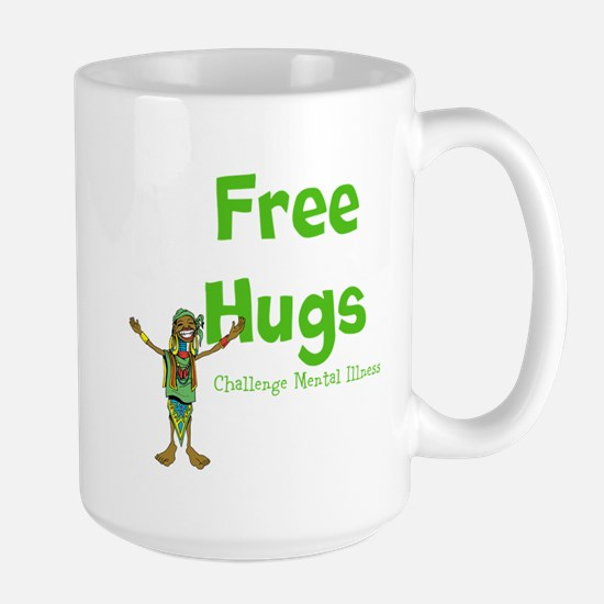 Free Hugs Large Mug