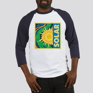 Solar Energy Baseball Jersey