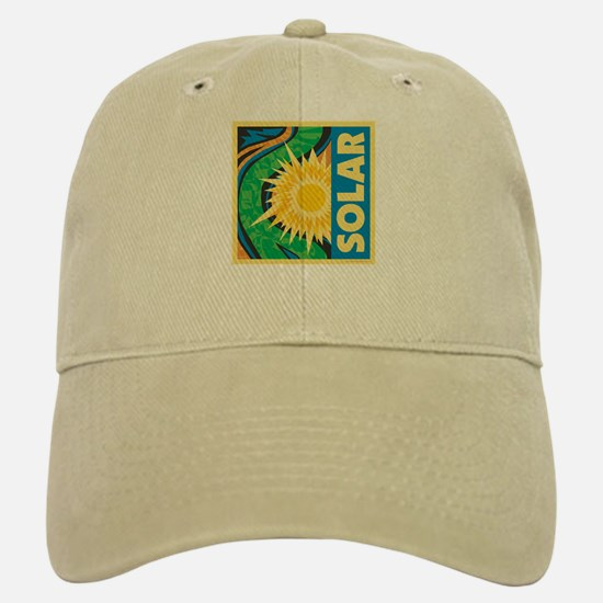 Solar Energy Baseball Baseball Cap
